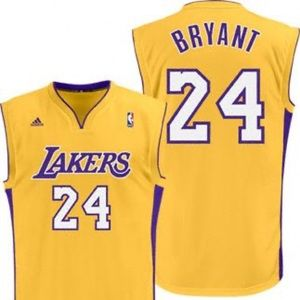 Adidas Los Angeles Lakers Kobe Bryant Jersey (New)